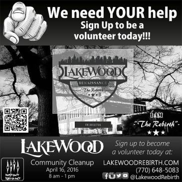 Lakewood Rebirth Flyer