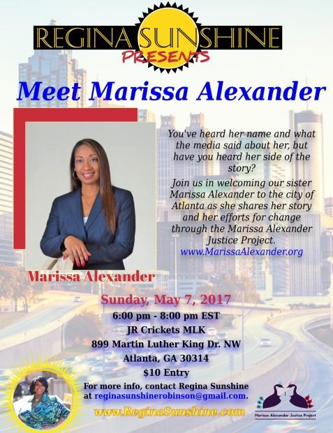 Meet Marissa Alexander Flyer