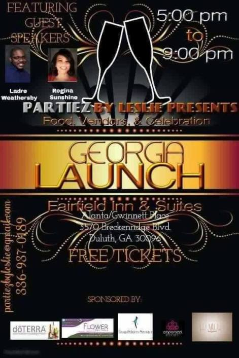 Partiez by Leslie Georgia Launch