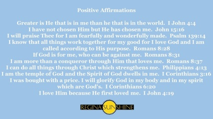 RS Affirmations Postcard Scriptures