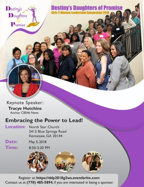 DDP 2018 Symposium Flyer