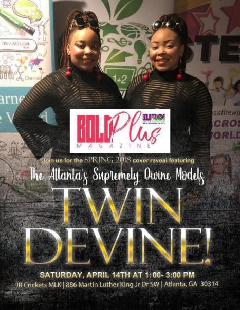 Twin Devine Cover Release Flyer