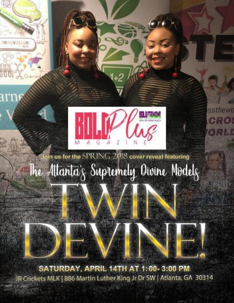Twin Devine Cover Release Flyer