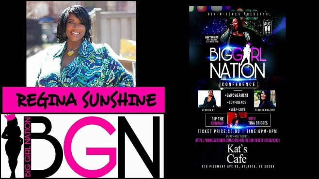 Big Girl Nation Regina Sunshine Flyer