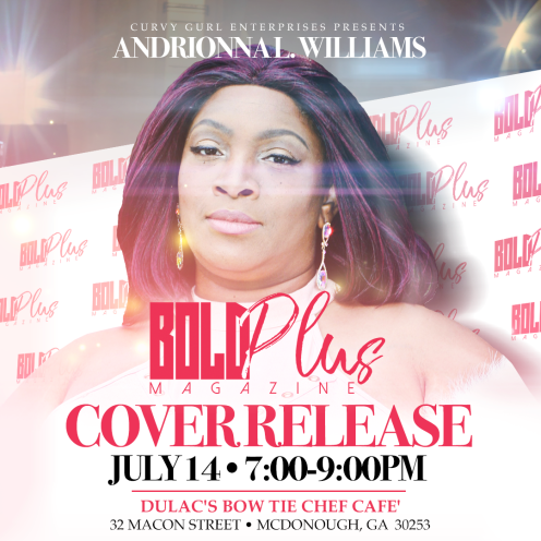 BOLD Plus Summer 2018 Issue Cover Release Party Flyer