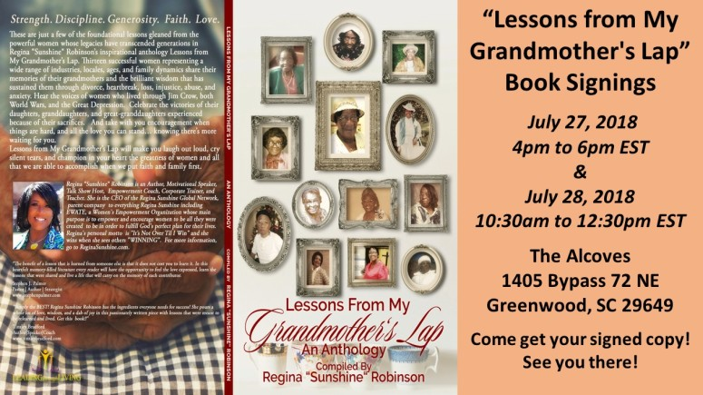 LFMGL Greenwood Book Signings