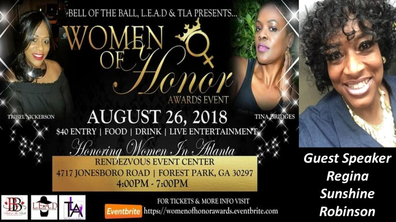 Women of Honor Speaker Flyer