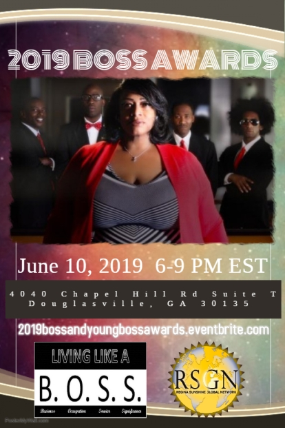 2019 BOSS Awards Flyer