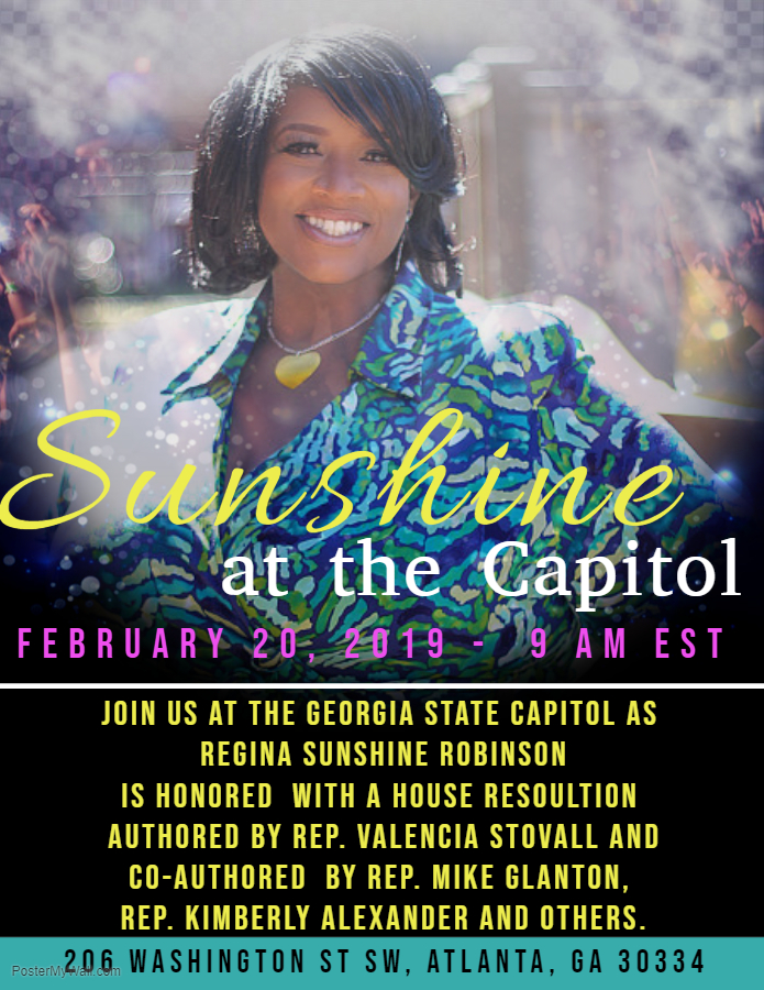 Sunshine at the Capitol Flyer 1