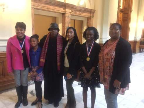 2018 Awesome Girls at the Capitol with Rep. Able Mable Thomas & Rep. Valencia Stovall
