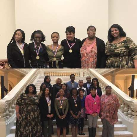 2018 Awesome Girls at the Capitol with Rep. Valencia Stovall