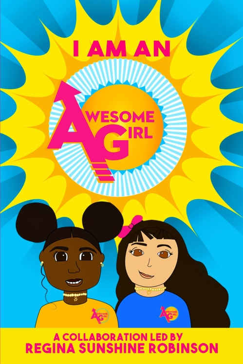 Awesome Girl Book Final Book Front Cover from Darshawne
