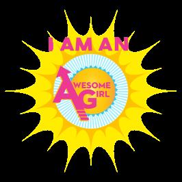 I Am An Awesome Girl Logo