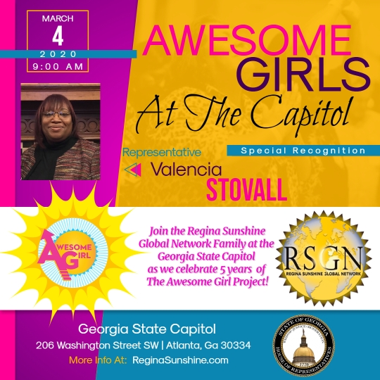 Awesome Girls Capitol Recognition