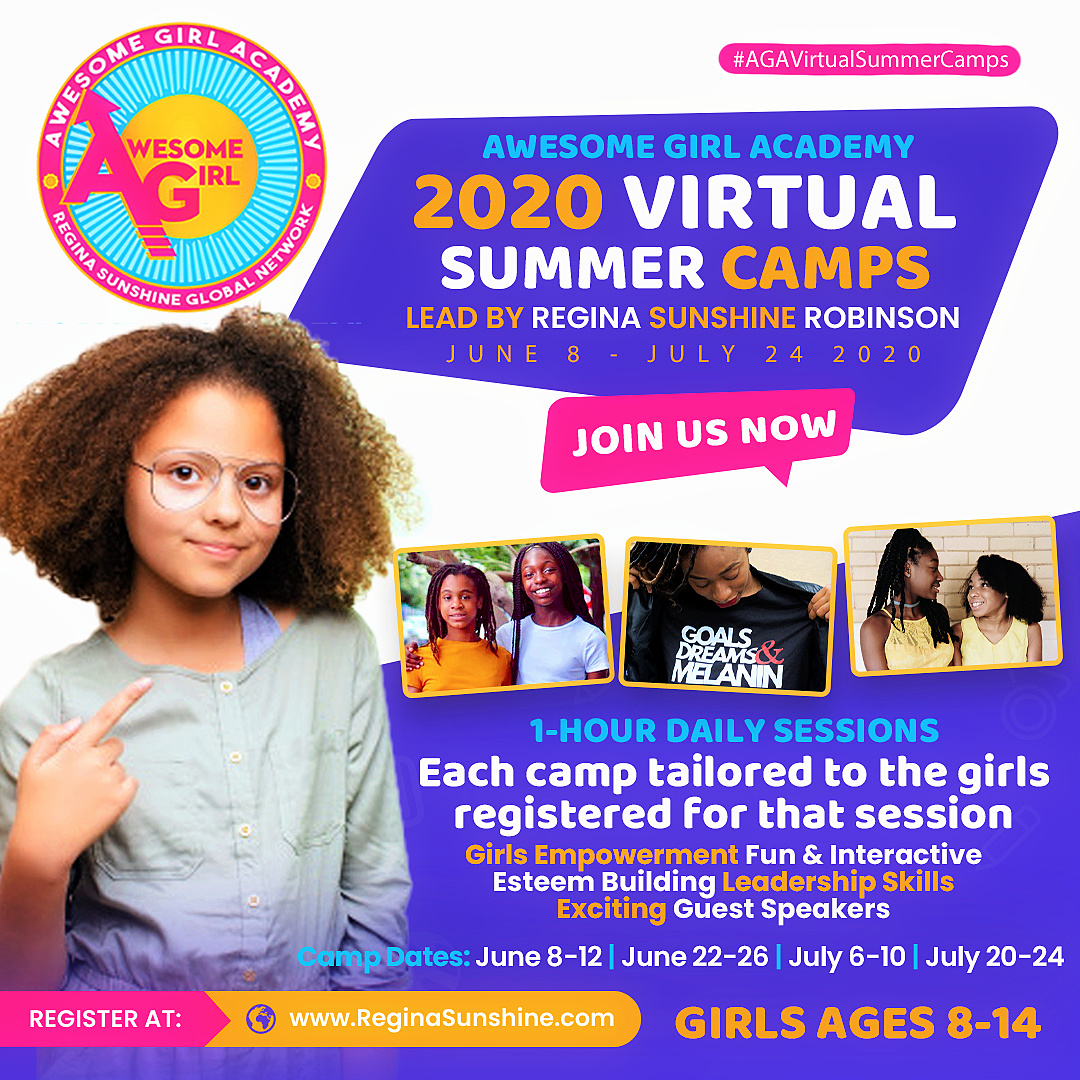 Awesome Girl Academy - Virtual Summer Camps 2020b